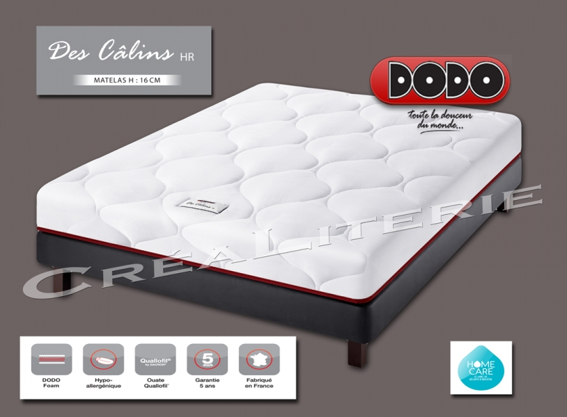 matelas dodo des c lins hr 16 cm mousse hr 35 kg m. Black Bedroom Furniture Sets. Home Design Ideas