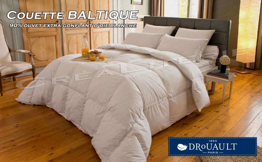couette drouault baltique 300 g m duvet extra gonflant d. Black Bedroom Furniture Sets. Home Design Ideas
