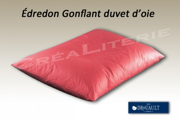 edredon gonflant prestige drouault 15 duvet d 39 oie et 85 plumettes d 39 oie fabrication. Black Bedroom Furniture Sets. Home Design Ideas
