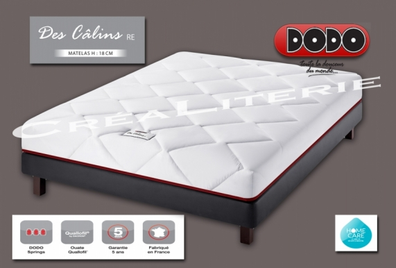 matelas dodo des c lins re 18 cm ressorts ensach s accueil. Black Bedroom Furniture Sets. Home Design Ideas