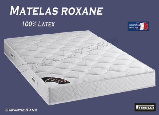 matelas pirelli roxane 20 cm tr s ferme latex bodyzones 360 accueil moelleux soutien tr s ferme. Black Bedroom Furniture Sets. Home Design Ideas