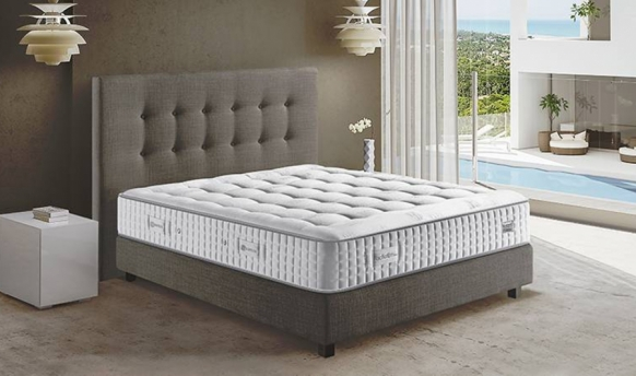 Matelas Simmons Fascination Ferme 31 Cm 1584 Ressorts Duetto Fabriqué En France  par Simmons