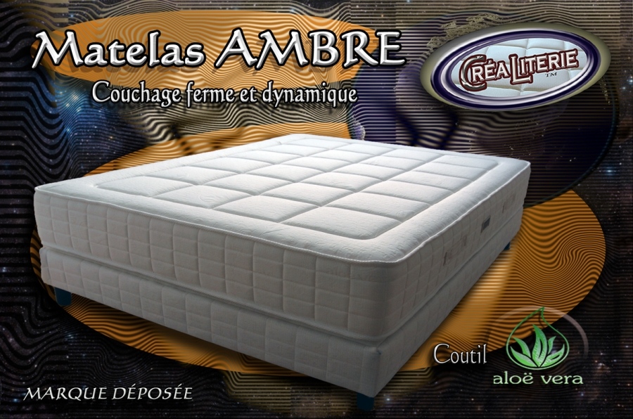 matelas ambre en mousse polyur thane haute densit coutil alo v ra rubrique matelas haute. Black Bedroom Furniture Sets. Home Design Ideas