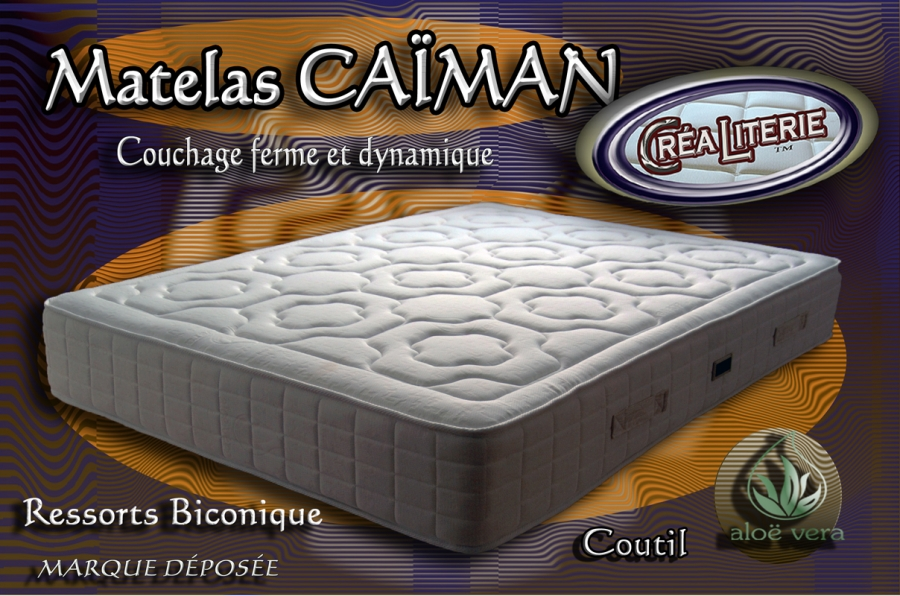 matelas ressort ca man promo 90x190 coutil alo v ra fabrication fran aise rubrique matelas. Black Bedroom Furniture Sets. Home Design Ideas