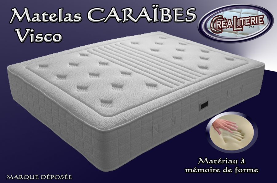 matelas cara bes visco promo m moire de forme fabrication fran aise rubrique matelas m moire. Black Bedroom Furniture Sets. Home Design Ideas